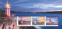 Australien - Fyrtårne - Postfrisk miniark