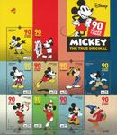 Portugal - Mickey Mouse, 90 ans - Série neuve 8v