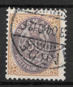 Danmark 1903 - AFA 30Cy - stemplet