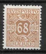 Danmark 1907 - AFA Av. 7 - postfrisk