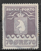 Grønland 1930 - AFA PP 10 - stemplet