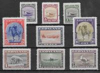 Grønland 1945 - AFA 8-16 - postfrisk