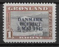 Grønland 1945 - AFA 23a - postfrisk