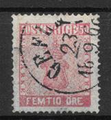Sverige 1858 - AFA 12 - stemplet