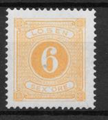 Sverige 1874 - AFA Po 4 - ustemplet