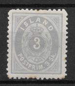 Island 1873 - AFA 5 - ustemplet