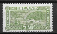 Island 1925 - AFA 114 - ustemplet