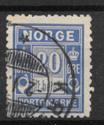 Norge 1897 - AFA Po 4A - stemplet