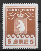 Grønland 1915 - AFA PP 6 - ustemplet