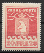 Grønland 1915 - AFA PP 9I - ustemplet