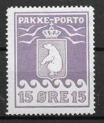 Grønland 1915 - AFA PP 8I - ustemplet
