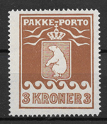Grønland 1930 - AFA PP 12 - ustemplet