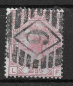 England 1873 - AFA 40 - stemplet