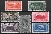 Italien 1929 - AFA  265-271 - stemplet