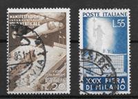 Italien 1951 - AFA 749-750 - stemplet