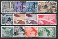 Colonie Italiane 1934 - Mich. 76-87 - Usato/Nuovo linguellato