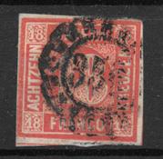 Bavaria 1861 - AFA 14 - Usato