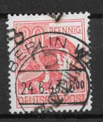 D.D.R. 1948 - 14A - stemplet