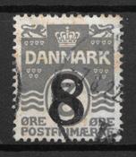 Danmark  - AFA 117 - stemplet