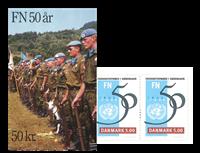 Danemark - Jubilé des NU 1995