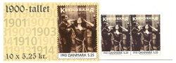 Danmark 2000 - 1900-tallet serie 1 - 5,25