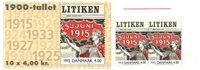 Danmark 2000 - 1900-tallet serie 2
