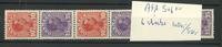 Danemark - AFA 5-6, bande de 6 neuve