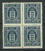 Danmark - AFA 17 ustemplet