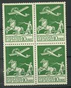 Danmark - AFA 144 postfrisk 4-blok