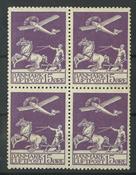 Danemark - AFA 145 bloc de 4