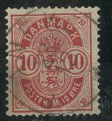 Danemark - AFA 35x oblitéré