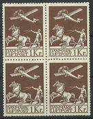Danemark - AFA 182+182x bloc de 4 neuf