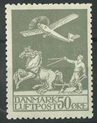 Danmark - AFA 181 ustemplet