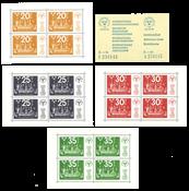 Sverige - Stockholmia AFA 872-875 postfrisk