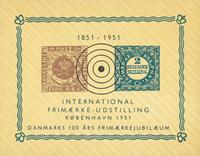 Danmark - Int. frimærkeudstilling i København 1951