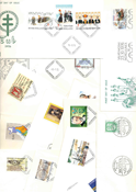 Finland FDC 1976 - LAPE nr. 776-795