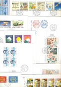 Finland Env.premier jour 1988 - LAPE no. 1032-1064