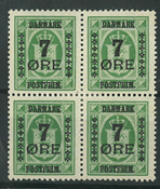 Danmark - AFA 163e i 4-blok