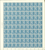 Danmark - AFA 215 helark postfrisk