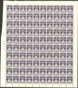 Danmark - AFA 200 postfrisk helark
