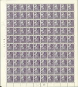 Danmark - AFA 207 helark postfrisk