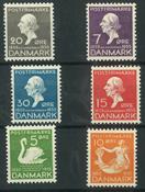 Danmark - AFA 223-228 ubrugt
