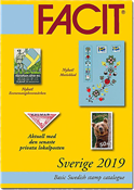 Facit catalogue Suède 2019