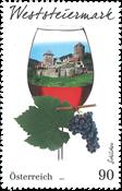 Østrig - Weststeiermark Vindistrikt - Postfrisk frimærke