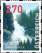 Autriche - Cascades Krimmler - Timbre neuf