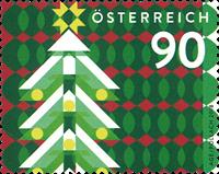 Østrig - Juletræ 2018 - Postfrisk frimærke