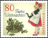Autriche - Noël 2018 - Fillette et son chat