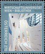 Autriche - Bibliothèque - Timbre neuf