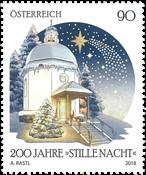Østrig - Stille Nacht - Postfrisk frimærke