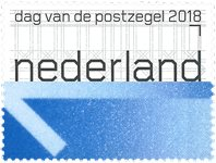 Netherlands - Day of Stamp 2018 - Mint stamp